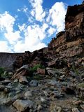 Roubideau kanjon Royaltyfri Bild