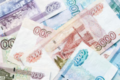 Rouble banknotes Stock Photography
