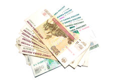 Rouble russe Photographie stock