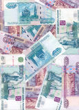 Rouble russe (fond) Image stock