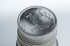 The rouble. Russian main coin Royalty Free Stock Image