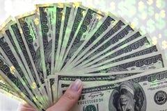 5000 roubles för modell för bakgrundsbillspengar Mycket kassa Baner av pengar Royaltyfri Fotografi