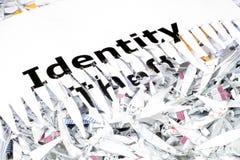 Roubo de identidade imagem de stock