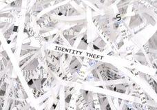 Roubo de identidade Fotografia de Stock