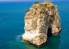 Rouche Líbano Fotos de archivo libres de regalías