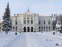 roud χειμώνας Στοκ Εικόνες