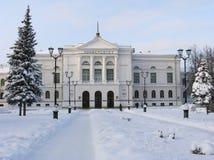 Roud de l'hiver. images stock