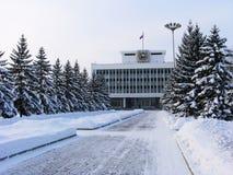 Roud del invierno. foto de archivo