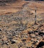 Roud en la montaña Imagen de archivo