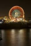 Roue 2 de Santa Monica Ferris Images libres de droits