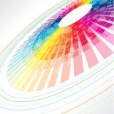 Roue abstraite colorée Photos stock