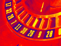 Roue abstraite de roulette photo stock
