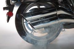 Roue arrière de moto de Yamaha Image stock