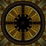 Roue aztèque de durée photo libre de droits