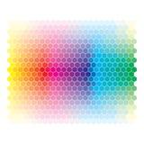 Roue d'abrégé sur spectre de couleur, Ba coloré de diagramme Image stock