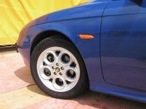 Roue d'Alfa Romeo 156 photo libre de droits