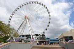 Roue d'Australie de Brisbane - du Queensland Photo libre de droits