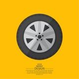 roue d'automobile Photographie stock libre de droits