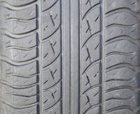 roue d'automobile Pneus en caoutchouc Le caoutchouc d'été réglé pour la voiture W Images stock