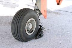 Roue d'avion Photographie stock libre de droits