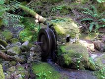 Roue d'eau Photographie stock libre de droits