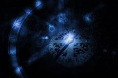 Roue d'horoscope illustration de vecteur