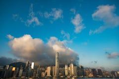 roue d'observation de Hong Kong images libres de droits