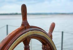 Roue d'un bateau Images stock