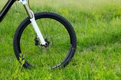 Roue d'un vélo de montagne Photo libre de droits