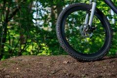Roue d'un vélo de montagne Image stock
