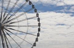 Roue de Париж на de Ла конкорде Париже Стоковая Фотография RF