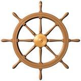 roue de bateau Image libre de droits