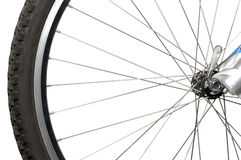Roue de bicyclette Images libres de droits