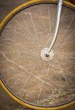 Roue de bicyclette avec le style ancien Photo libre de droits