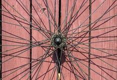 Roue de bicyclette de vintage Photos libres de droits