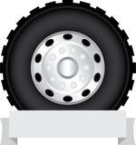 Roue de camion Photo stock