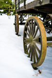 Roue de chariot antique Photo libre de droits