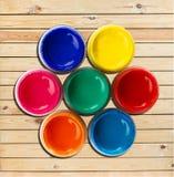 Roue de couleur Images stock