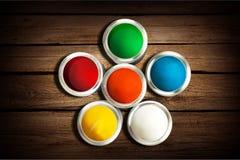 Roue de couleur Photos stock