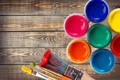 Roue de couleur Photographie stock libre de droits