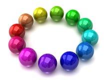 roue de couleur de sphère Photo stock