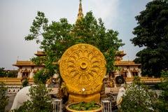 Roue de Dhamma image libre de droits