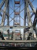 Roue de Ferris au stationnement de Prater image stock