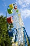 Roue de Ferris colorée Photographie stock