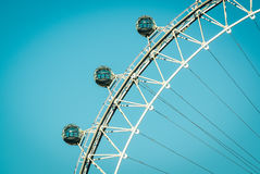 Roue de Ferris colossale Image libre de droits