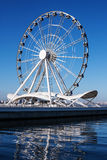 Roue de ferris d'attraction Images libres de droits