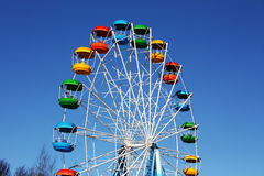 Roue de ferris de carnaval Photos stock
