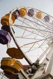 Roue de Ferris de dessous Image stock