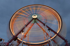 Roue de ferris de rotation Photographie stock
