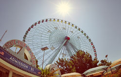 Roue de ferris de Texas Star Photographie stock libre de droits